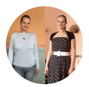 Melanies Erfahrung mit Magenballon ohne Tabletten. Und 41 kg erfolgreich abnehmen.